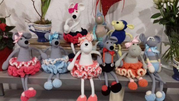 Dekoracje-zabawki myszki