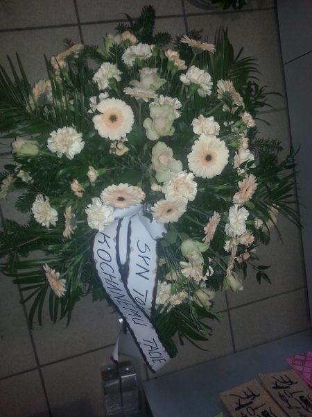 Wieniec pogrzebowy- okrągły