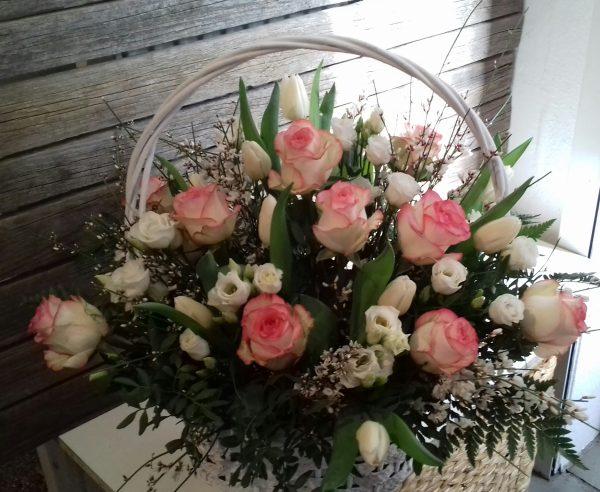 Kosz kwiatowy
