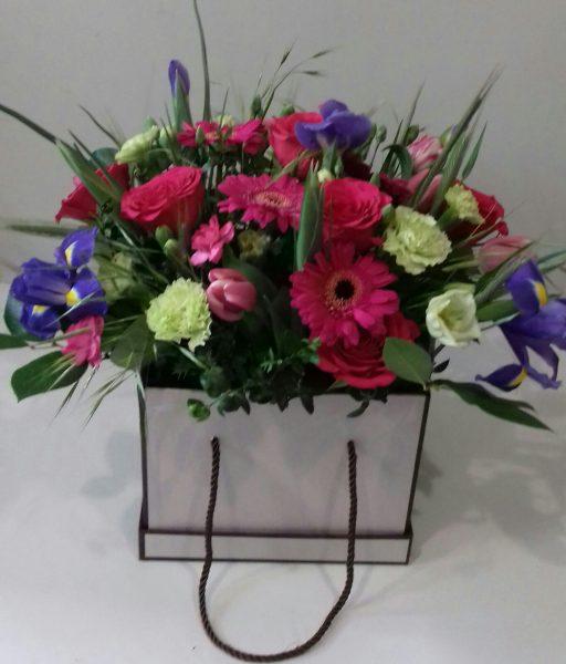 Flower box kwiaty mieszane