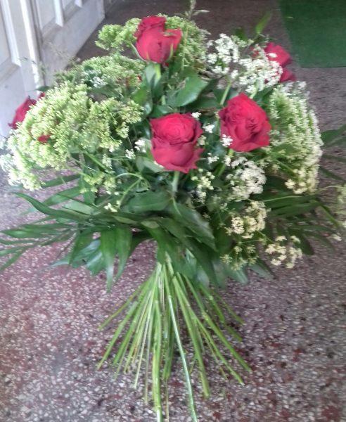 Bukiet z 7 róż