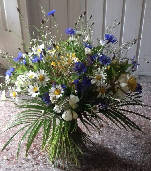 Bukiet z kwiatów polnych