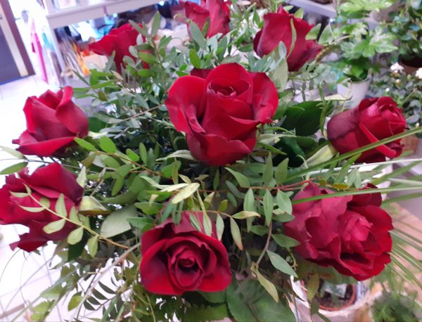 Bukiet z 9 róz