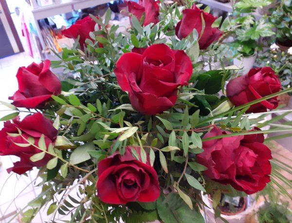 Bukiet z 9 róż
