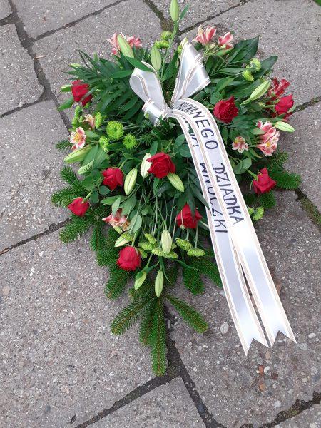 Wiązanka z lilii i alstromerii