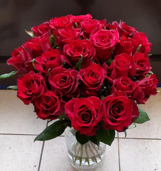 Bukiet z 30 róż