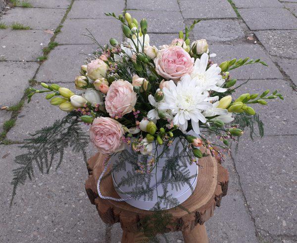 Flower box pastelowy